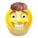 Chocolate Cake Emoji Emoticon
