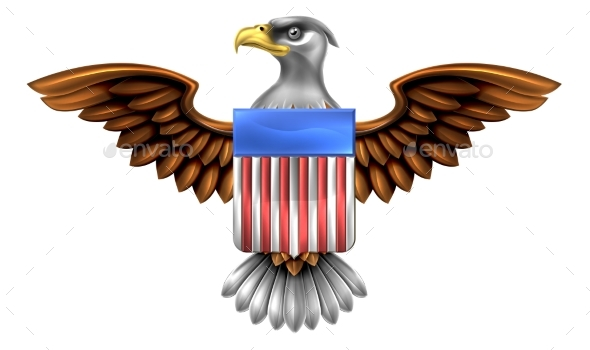 American Eagle Shield - Miscellaneous Vectors