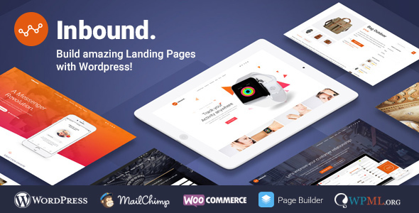 Inbound - WordPress Landing Page Theme