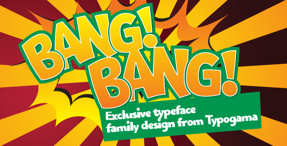 Bangbang - Comic Decorative