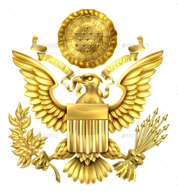Gold Seal of the United States - Miscellaneous Vectors