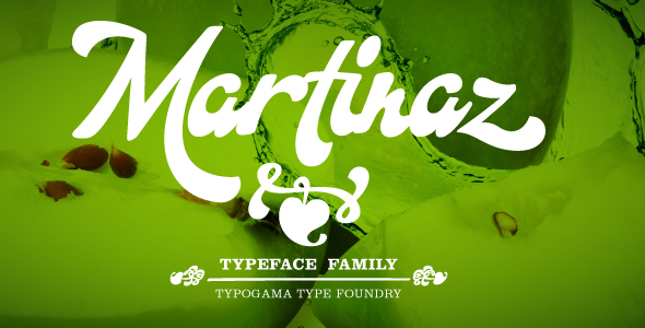 Martinaz - Script Fonts