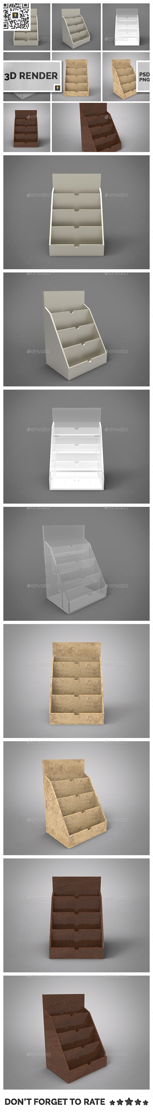 Business Card Holder 3D Render - Objects 3D Renders