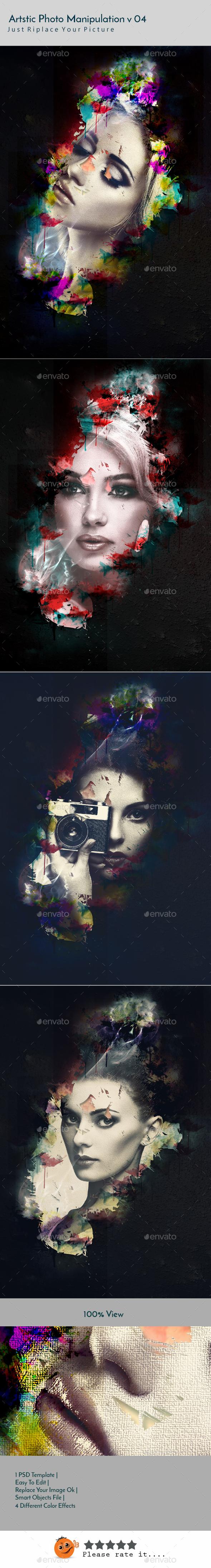 Artstic Photo Manipulation v04 - Artistic Photo Templates