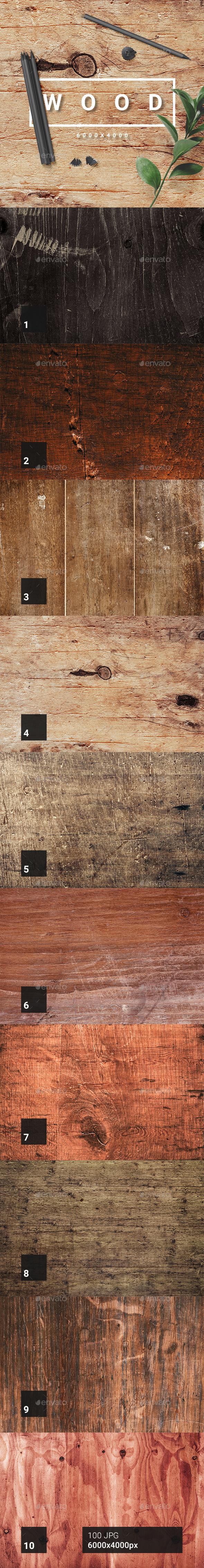 100 Wood Textures - Wood Textures