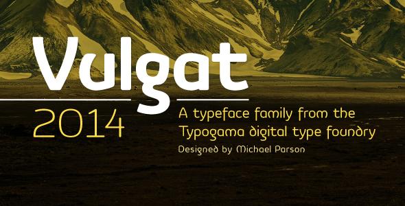 Vulgat - Sans-Serif Fonts