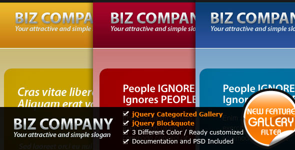 Free Download Biz Company - The Elegant Business Website Nulled Latest Version