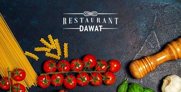 DAWAT Cafe & Restaurant HTML5 Website Template