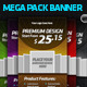 Premium Banner-Mega Pack-For Online Advertisement - GraphicRiver Item for Sale