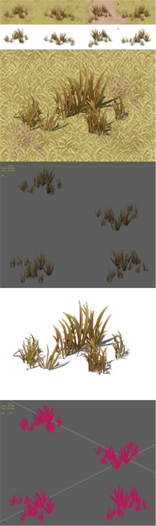 Cartoon Edition - Wildland Vegetation - 3DOcean Item for Sale