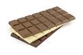 Chocolate bars on white - PhotoDune Item for Sale