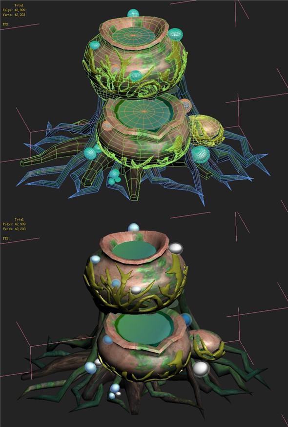 Cartoon version - petrol spores 02 - 3DOcean Item for Sale
