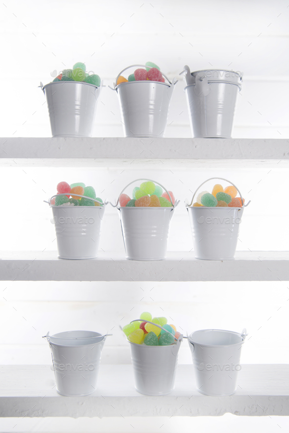 Multicolored soft candies - Stock Photo - Images