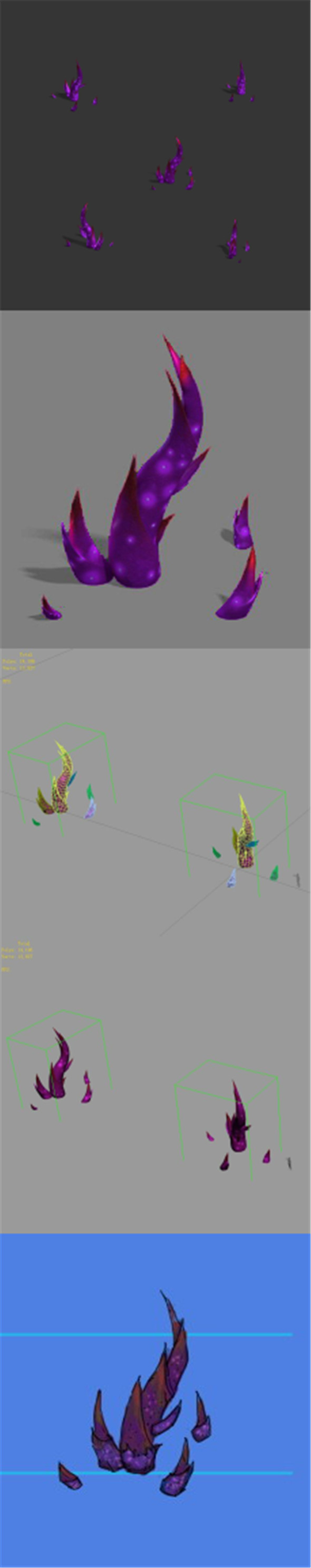 Magic territory - plant 02 - 3DOcean Item for Sale