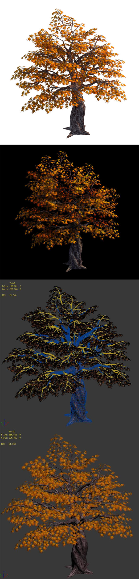Qixiashan - tree - 3DOcean Item for Sale