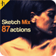 Sketch Mix 87 Photoshop Actions - GraphicRiver Item for Sale