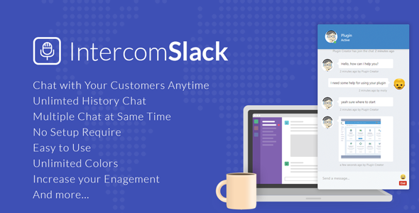 IntercomSlack for Websites - CodeCanyon Item for Sale