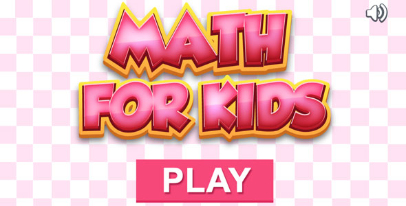Math for Kids - HTML5 Educational Game (CAPX included) - CodeCanyon Item for Sale