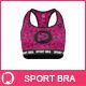 Sport Bra Mock-up - GraphicRiver Item for Sale