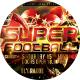 Super Sunday Football Sports Flyer