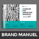 Brand Manual Brochure - GraphicRiver Item for Sale
