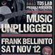 Music Unplugged Flyer Template - GraphicRiver Item for Sale