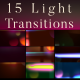 15 Light Transitions - VideoHive Item for Sale