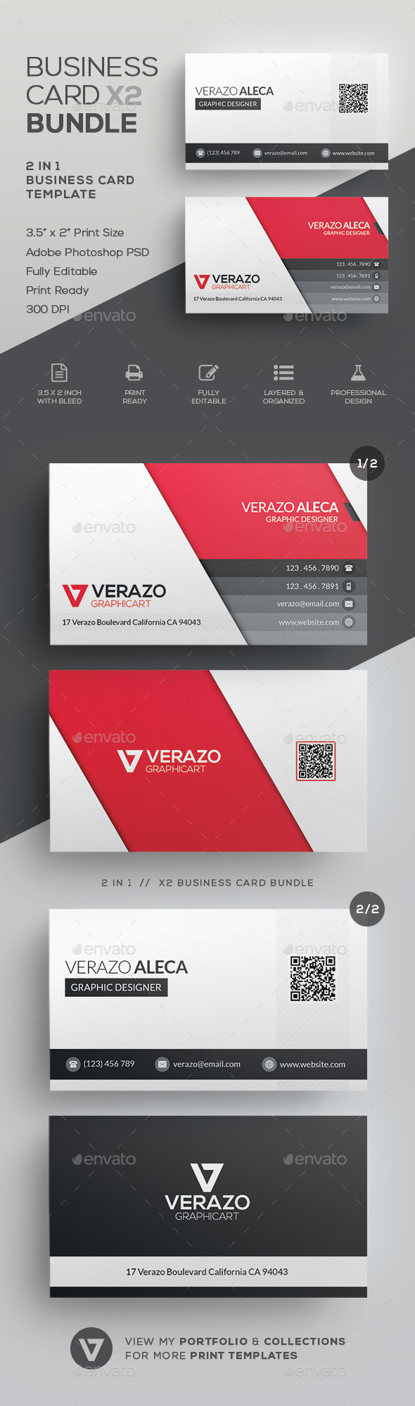 Business Card Bundle 31 - Corporate Business Cards