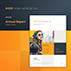 ASER Annual Report - GraphicRiver Item for Sale