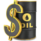 Oil Barrel and Dollar Sign - GraphicRiver Item for Sale