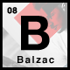 Balzac Minimal and Creative WordPress Theme