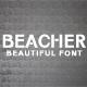 Beacher Sans Serif Font
