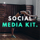 Health & Fitness Social Media Kit - GraphicRiver Item for Sale