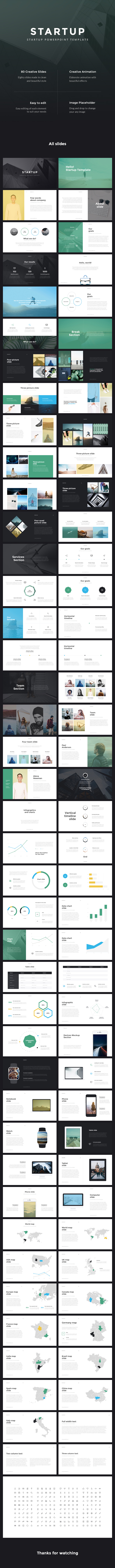 Startup - Pitch Deck PowerPoint Template - Business PowerPoint Templates