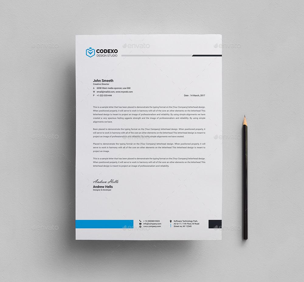 invoice with letterhead bundle