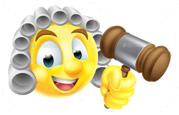 Emoticon Emoji Judge Character - Miscellaneous Characters