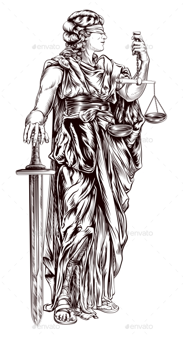 Lady Justice - People Characters