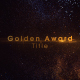 Golden Award Title - VideoHive Item for Sale