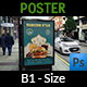 Restaurant Poster Template Vol.12 - GraphicRiver Item for Sale