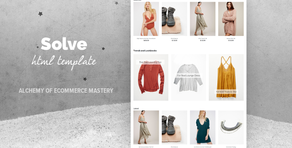 Solve - Multipurpose eCommerce Template - Retail Site Templates