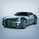 Vray Ready Pontiac Solstice Car - 3DOcean Item for Sale