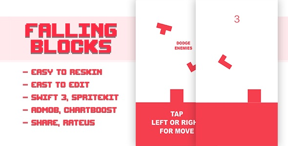 Falling Blocks - CodeCanyon Item for Sale