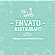 A1/ Envato Restaurant/ New Cafe/ Chef's Burger/ Vegetarian Menu/ Fast Food/ Street Food Market/ TV - VideoHive Item for Sale