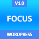 Focus High-Converting Landing Page WordPress Theme Nulled