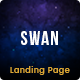Swan Lake - Marketing Landing Page - ThemeForest Item for Sale