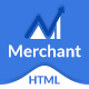 Merchant - Business, Finance & Corporate HTML5 Template Nulled
