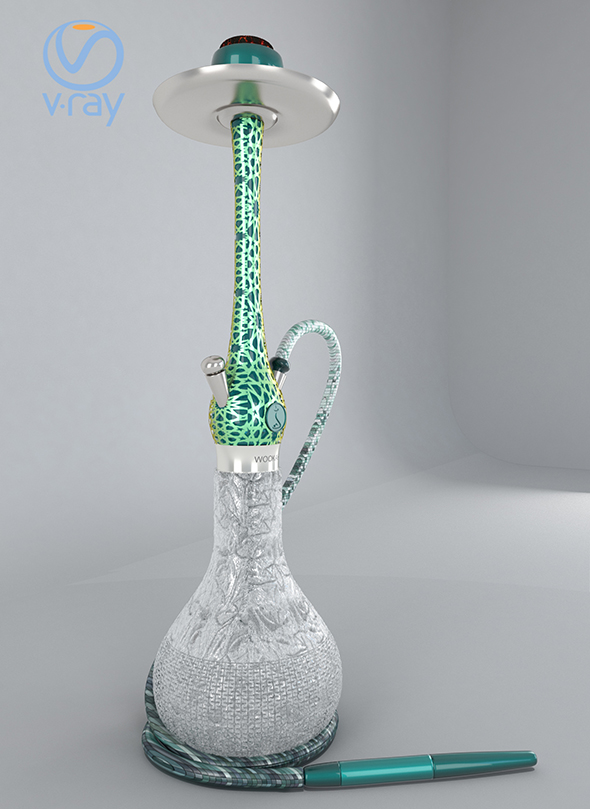 chicha smoke decor - 3DOcean Item for Sale