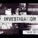 Investigation Documentary Project - VideoHive Item for Sale