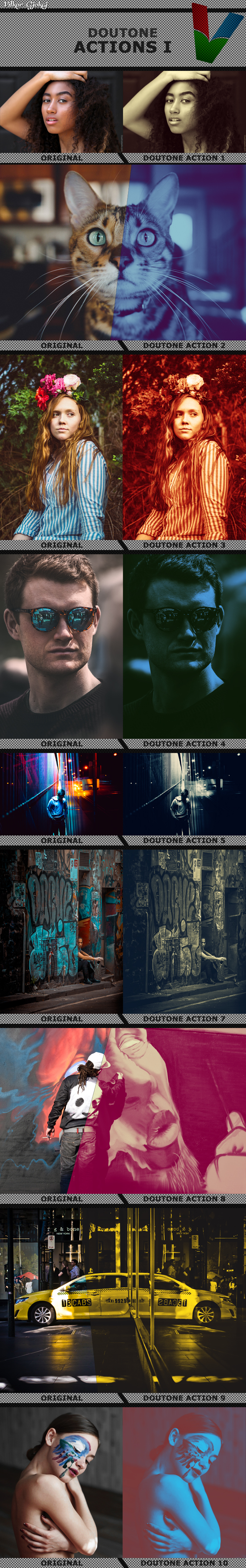 Doutone Actions 1 - Photo Effects Actions