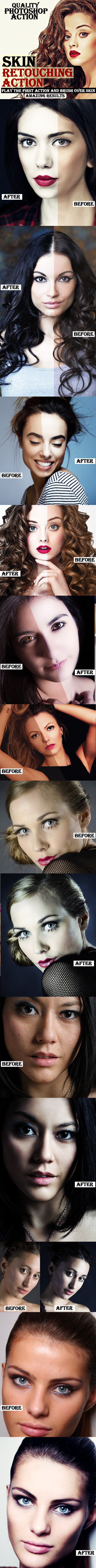 Skin Retouching Actions - Photo Effects Actions